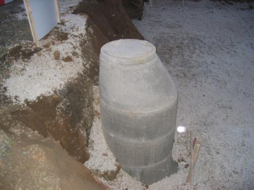 2005-02-16 Aushub fertig