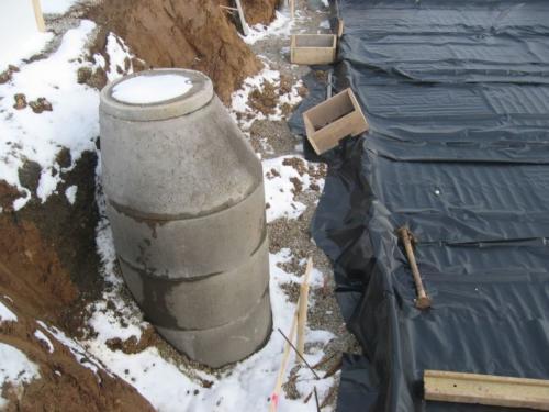 2005-02-19 Bodenplatte Vorbereitung